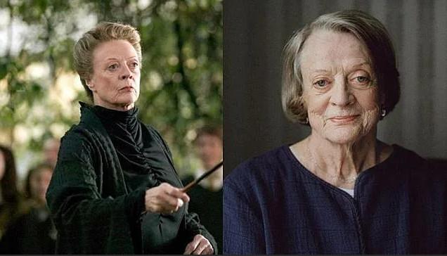 Актеры фильма о Гарри Поттере: чем они занимались после съемок и где они сейчас - профессор МакГонагалл - Мэгги Смит